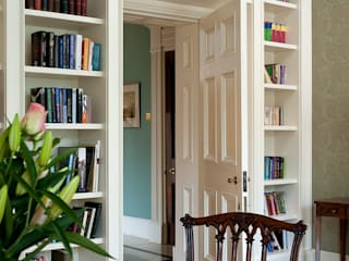 The Georgian Library: classic Study/office by Terry Design