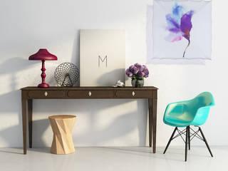 Kinkiet Flower: styl , w kategorii  zaprojektowany przez Lumiforma