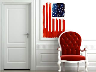 STICKER MURAL - Stars And Stripes:  de style  par Arty Walrus