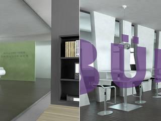 Büro Moderne Bürogebäude von Innenarchitektur Schucker & Krumm Modern