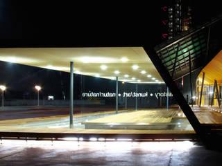 Infrastrukturelle Maßnahmen und Umbau NÖ Landesmuseum St. Pölten Moderne Museen von RATAPLAN - Architektur ZT GmbH Modern
