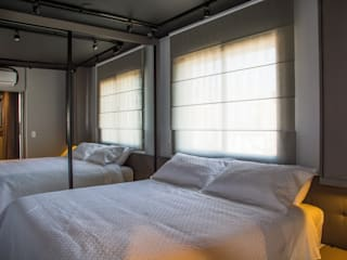 Leticia Sá Arquitetos Modern style bedroom