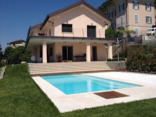 Private residence - Cernobbio Como Lake Archiluc's - Studio di Architettura Stefano Lucini Architetto Rumah Modern