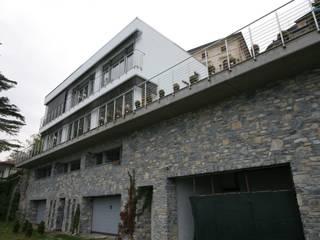 Private residence - Blevio Como Lake Archiluc's - Studio di Architettura Stefano Lucini Architetto Rumah Modern
