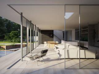 Гостиная в . Автор – Strom Architects, Скандинавский