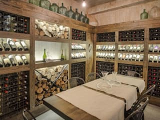 Cava Don Alonso Grillados Argentinos: Gastronomía de estilo  por Cohen - Reig Arquitectura & Interiorismo
