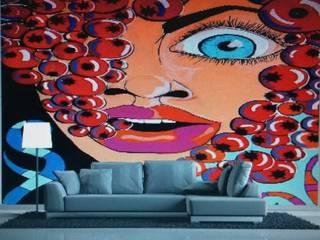 Kunst Trifft Tapete : Ausgefallene Wohnzimmer Von Exclusive Wandgestaltung  Frank Jordan