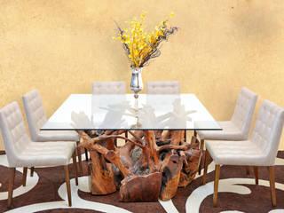 Mesa de Raiz: Sala de jantar  por Boulle