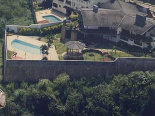 Rustikale Pools von Bizzarri Pedras Rustikal