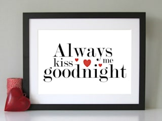 Always Sparkle Typographic Art Prints par Always Sparkle Moderne