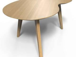 Les tables basses NUBES (chêne massif) par Osmose le bois Minimaliste