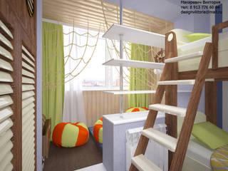 Студия дизайна Виктории Силаевой Chambre d'enfant méditerranéenne