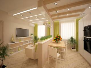 Студия дизайна Виктории Силаевой Salon minimaliste