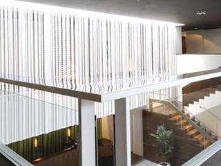 ampliación hotel del balneario Las Caldas: Hoteles de estilo  de noe vega interiorismo