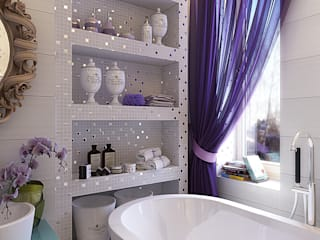 Eclectic style bathrooms by Your royal design Eclectic