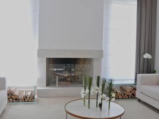 Renata Amado Arquitetura de Interiores Soggiorno minimalista