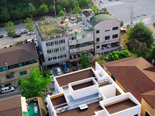 Rumah Modern Oleh 현앤전 건축사 사무소(HYUN AND JEON ARCHITECTURAL OFFICE ) Modern