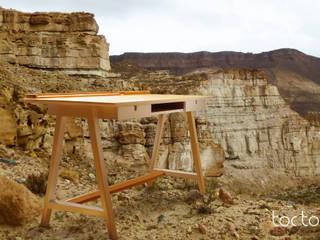 ESCRITORIO MESETA:  de estilo  por TocToc - Muebles y Objetos Argentinos,