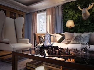 Living room by Katerina Butenko, Classic