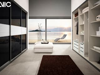 Proyecto de armario y vestidor del configurador de colores Alvic Vestidores de estilo moderno de ALVIC Moderno