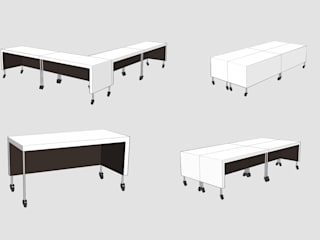 Relooking : Modification de l'image d'un bâtiment tertiaire:  de style  par Pascale Minier Architectes