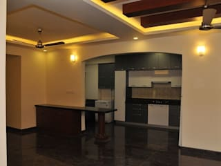 Private Client at Salarpuria Melody, Bangalore: country  by Arka Interio,Country