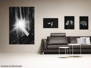 Kunst in Wohn- und Schlafzimmer Pablo & Paul Kunst Bilder & Gemälde