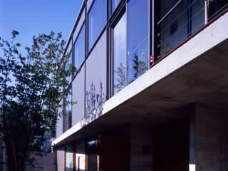 世田谷・桜の住宅: 井上洋介建築研究所が手掛けた家です。,モダン
