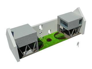 Ouverture sur Rez-de-Chaussée: Maisons de style  par VISIBLE