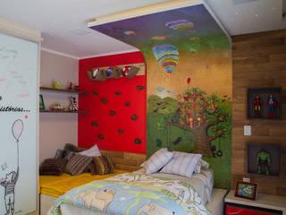 Interior Residencial Quarto infantil moderno por Tuti Arquitetura e Inovação Moderno