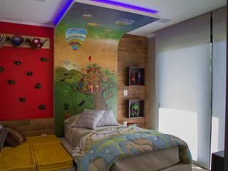 غرفة الاطفال تنفيذ Tuti Arquitetura e Inovação , حداثي