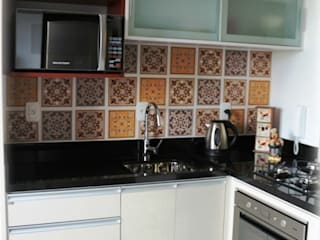 Interior Residencial - Apartamento Jovem Casal Cozinhas modernas por Tuti Arquitetura e Inovação Moderno