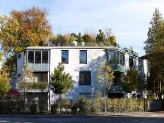 Mehrfamilienhaus Goldbergstraße Moderne Häuser von SPP Sturm Peter + Peter Architekten + Ingenieure Modern