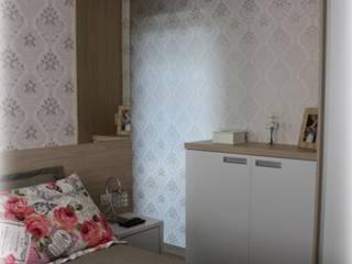 Interior Residencial - Apartamento Jovem Casal Quartos modernos por Tuti Arquitetura e Inovação Moderno
