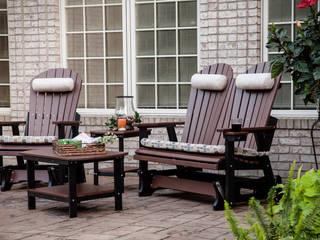 Balcones y terrazas de estilo  por Casa Bruno American Home Decor,