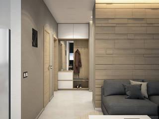 ЖК Viva Коридор, прихожая и лестница в стиле минимализм от HOMEFORM Студия интерьеров Минимализм