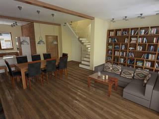 Dom no.1 Loft: styl , w kategorii  zaprojektowany przez Studio Minimal