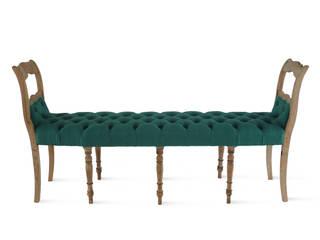 Chesterfield bankje:   door Lifecycle Art & Furniture