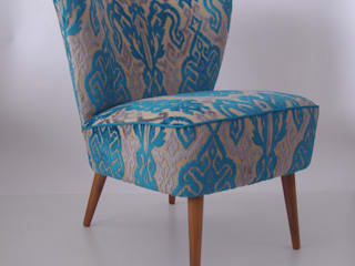 Retro televisiestoel:   door Lifecycle Art & Furniture