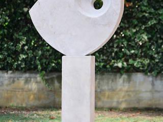 Commissione per una scultura a Sant'Ippolito (Pesaro e Urbino) Giardino minimalista di Federico Pozuelo Scultore Minimalista