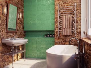 Country style bathroom by HOMEFORM Студия интерьеров Country