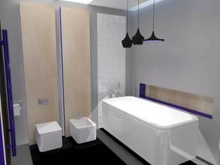 Łazienka no.3: styl , w kategorii  zaprojektowany przez Studio Minimal