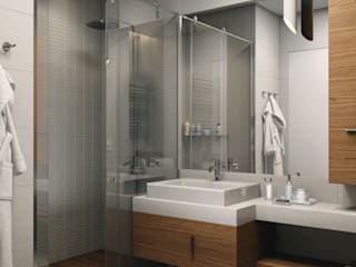 Industrial style bathroom by HOMEFORM Студия интерьеров Industrial