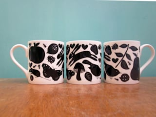 Mugs by The Black Rabbit: eclectic  by The Black Rabbit, Eclectic