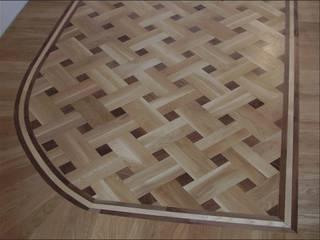 Salle multimédia de style  par Luxury Wood Flooring Ltd, Moderne