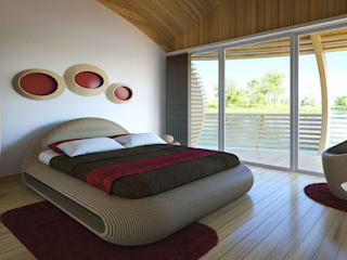 WaterNest Modern style bedroom by Giancarlo Zema Design Group Modern