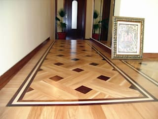 Basket Weave - Parquet Pattern:  Corridor & hallway by Artistico UK Ltd