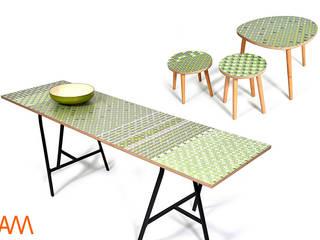 Formics Sampler tables:   by Alison Milner