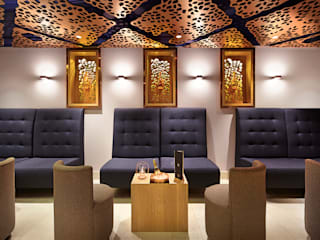 Pommery Champagne Bar, Park Lane Fraher and Findlay Modern bars & clubs