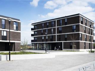V8 Moderne huizen van das - design en architectuur studio bvba Modern